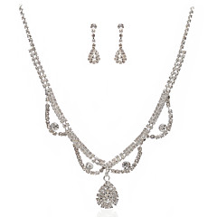 Jewelry Set Women's Anniversary / Wedding / Engagement / Birthday / Gift / Party / Special Occasion Jewelry Sets Cubic Zirconia / Alloy
