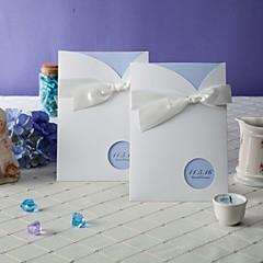 Non personnalisés Format Enveloppe & Poche Invitations de mariage Cartes d'invitation-50 Pièce/SetStyle artistique / Style classique /