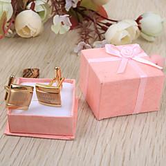 Noivo Padrinho do Noivo Presentes Piece / Set Botões de Punho e Clipes de Gravata Glamorouso Clássico Casamento Aniversário NegócioAço