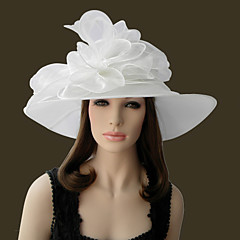Naiset Organza Päähine-Erikoistilaisuus Hatut