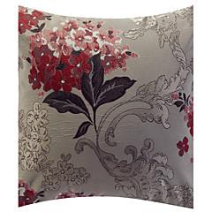 Polyester Kissenbezug , Blumen Traditionell