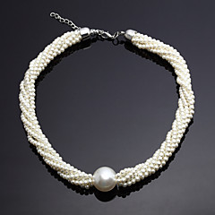 Jewelry Set Women's Anniversary / Wedding / Engagement / Birthday / Gift / Party Jewelry Sets Alloy Imitation Pearl Silver
