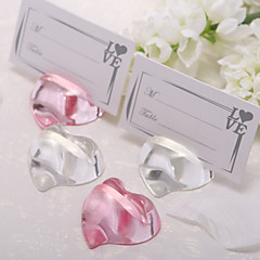 Rhinestone Crystal Place Card Holders 1 Standing Style Gift Box