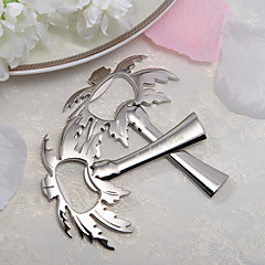 "Személyre szabott ""Palm Breeze"" Chrome pálma, fa, Bottle Opener (Set of 4)"