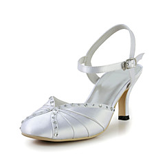 Women's Wedding Shoes Slingback Sandals Wedding Ivory/White
