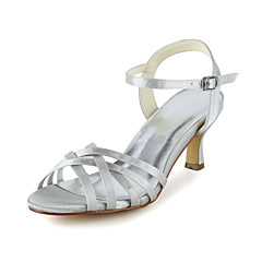 Women's Wedding Shoes Slingback Sandals Wedding Black/Purple/Ivory/Silver/Gold/Champagne/Blue/Pink/Red/White