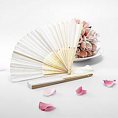 Hochwertiges Papier Ventilatoren und Sonnenschirme Stück / Set Handfächer Klassisches Thema Weiß 38cmx21cmx1cm 2.7cmx21.5cmx1.5cm