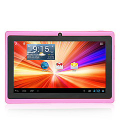 7 polegadas Tablet Android (Android 4.1 Android 4.4 1024*600 Quad Core 512MB RAM 8GB ROM)