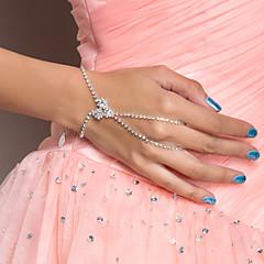 Elegantní slitina s drahokamu Dance náramek