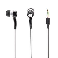 Intra-auriculaire casque pour ipod / ipad / iphone / mp3 (noir)