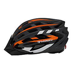MOON Dámské Pánské Unisex Jezdit na kole Helma 31 Větrací otvory Cyklistika Horská cyklistika Silniční cyklistika CyklistikaL: 58-61CM M: