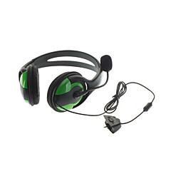 Fones com Microfone para xBox 360 (Verde)