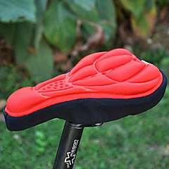 Bike Seat Saddle Cover Mountain Bike / Road Bike Silica Gel Red
