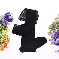 Sokken en kousen Schattig Lolita Lolita Zwart Lolita Accessoires Kousen Kant Voor Dames Katoen / Polyester
