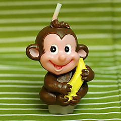 """Monkey Láska Banana"" Candle"