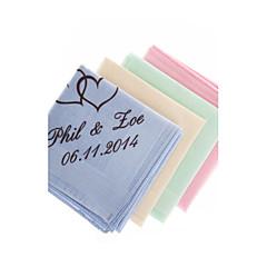 כלה / שושבינה / תינוק וילדים מתנות חתיכה / סט מתנה יצירתית יצירתי חתונה / יום שנה / יומהולדת / תודה / עסקים מיקרופיבר מותאם אישיתמתנה