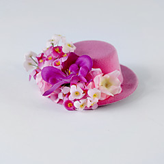 Women's / Flower Girl's Silk Headpiece-Wedding / Special Occasion / Casual Flowers