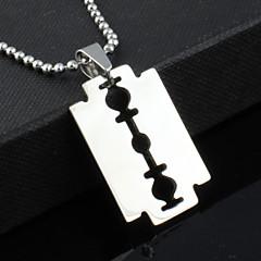 Muškarci Ogrlice s privjeskom Tikovina Titanium Steel Jewelry Jedinstven dizajn Moda Jewelry Party Dnevno Božićni pokloni 1pc