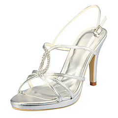 Women's Wedding Stiletto Heel Pumps Sandals\|Heels with Rhinstone(More Colors)