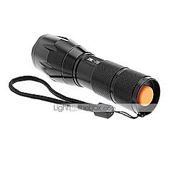 Lampes Torches LED / Lampes de poche LED 5 Mode 2000/1200/1600 Lumens Etanche / Rechargeable / Surface antidérapante Cree XM-L T6 18650