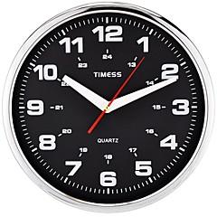 "Timess ™ 12 ""H Cospla Art-Super Mute Metallic Wanduhr"