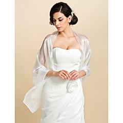 Bruiloft Wraps / Omslagdoeken / Damesomslag Sjaals Tule Hemelsblauw Bruiloft / Feest/Avond / Kantoor & Carrière / Informeel