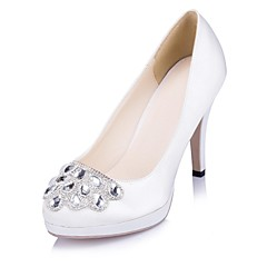 Women's Wedding Shoes Heels Heels Wedding/Party & Evening Black/Blue/Purple/Red/Ivory/White