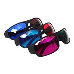 משקפיים reedoon אדום כחולים / ירוקים / אדום כחול חום 3D עבור מחשב טלוויזיה (4pcs)