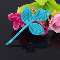shixin® blå classic tre blade legering hårnål (1 stk)