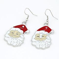 עגילי סנטה קלאוס