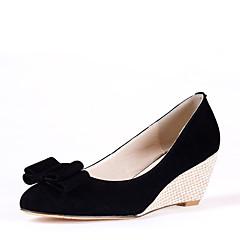 maykee Damenmode causual Keilabsatz Schuhe