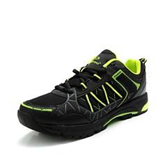 נעלי רכיבה מזדמנת נגד חלקת אולטרה-אור ירוק הקרינה שחורה + יוניסקס tiebao