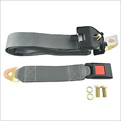 carking ™ verstelbare autogordel lap driepunts rolgordel-grijs