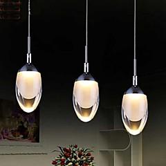 3W Pendelleuchten ,  Zeitgenössisch Chrom Feature for LED MetallWohnzimmer / Schlafzimmer / Esszimmer / Küche / Studierzimmer/Büro /