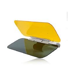 óculos de carro dia e noite anti-reflexo de visão noturna condução viseiras espelho sol