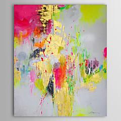 Handgeschilderde AbstractKlassiek Eén paneel Canvas Hang-geschilderd olieverfschilderij For Huisdecoratie