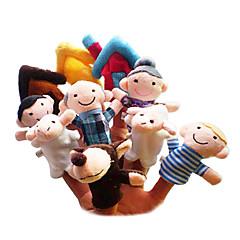 Fingerpuppe Spielzeuge Zeichentrick Freizeit Hobbys Jungen / Mädchen Gewebe