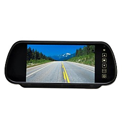 """7 """"lcd skjerm bil bakfra sikkerhetskopi parkering speil monitor + kamera nattsyn"""
