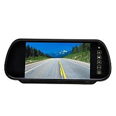 "7 ""LCD-skærm bil bagfra backup parkering spejl skærm + kamera nattesyn"