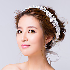 Women's Alloy / Cubic Zirconia Headpiece-Wedding / Special Occasion Flowers / Wreaths Clear