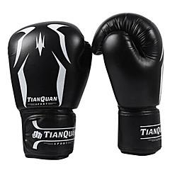 ボクシング・サンドバッグ用グローブ プロボクシング用グローブ ボクシング・練習用グローブ グラップリンググローブ パンチングミット のために 武術 総合格闘技(MMA) ロブスター爪手袋 保護 PU スポンジ ブラック