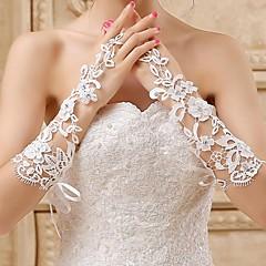 Fingerless Glove Bridal Gloves Spring / Summer / Fall / Winter Ivory