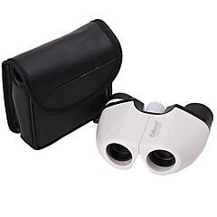 10x 22 mm Binóculos BAK4 Alta Definição / Visão Nocturna 112m/1000m Normal / Binóculos com Zoom / Penumbra Branco / Preto