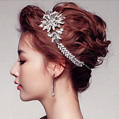 Women's Rhinestone / Crystal / Alloy Headpiece-Wedding / Special Occasion / Outdoor Tiaras / Wreaths