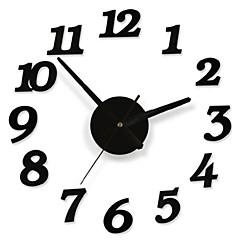 diy Haft Aufkleber moderne Wandstellige Zahl Rauminneneinrichtung Uhr