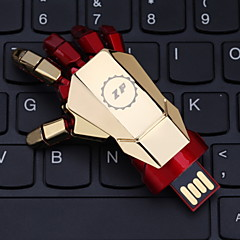 ZP 32GB Hand Pattern Metal Style USB Flash Pen Drive