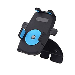 universal bil cd slot mount beslag holder til iphone mobiltelefon gps 360 graders drejelig