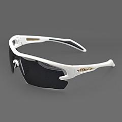 Sunglasses Men / Women / Unisex's Classic / Sports / Fashion / Sunglass Style Wrap White Cycling Half-Rim