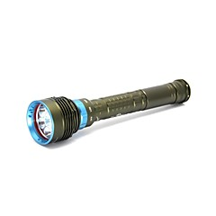 DC-DX7 Diving100 Meters 3-Mode 7xCree XML L2 LED  Diving Flashlight L2  (8000LM/3X26650,18650/Green)