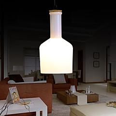 60W Zeitgenössisch Metall Pendelleuchten Wohnzimmer